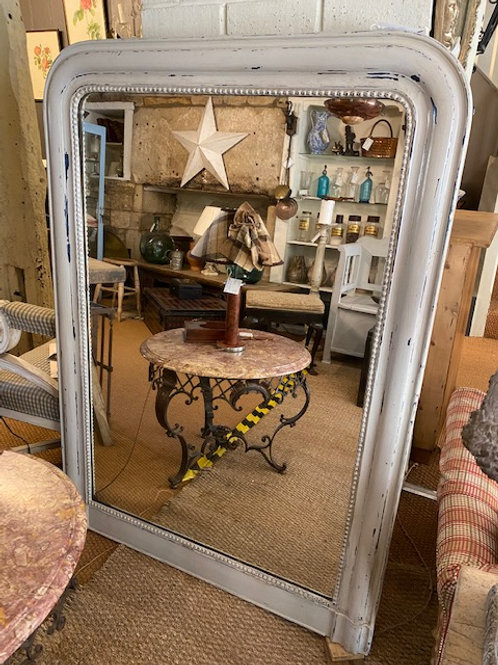 French 19th Century Mirror with Original Plate.