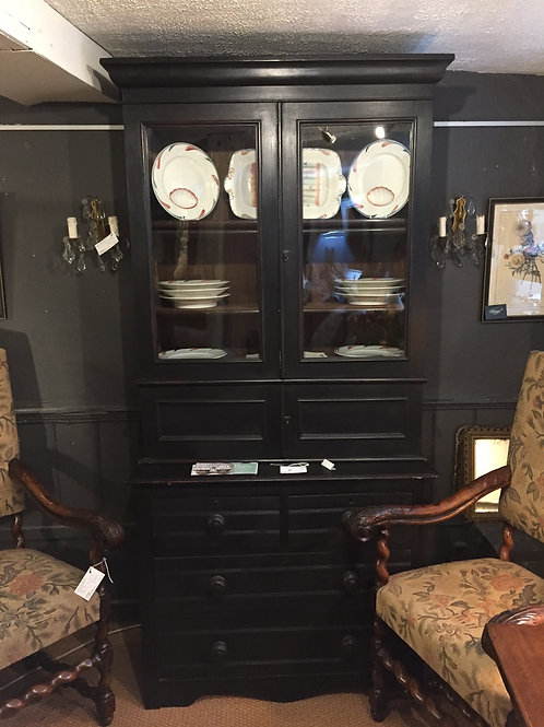 Black Painted Cupboard