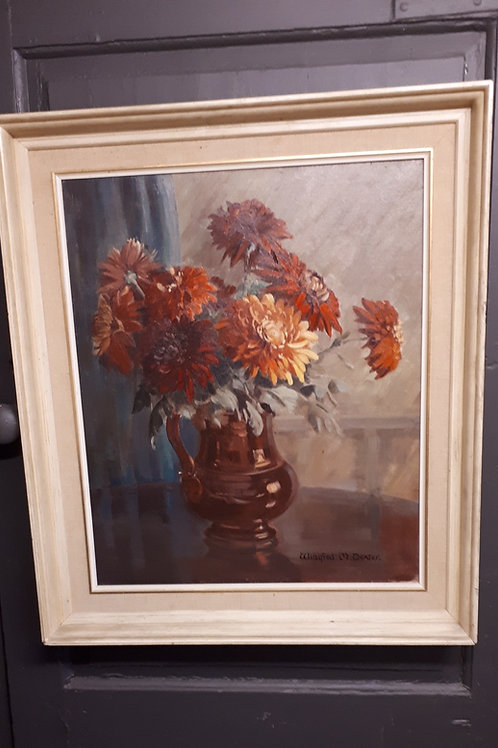 C1950 Signed Oil Painting