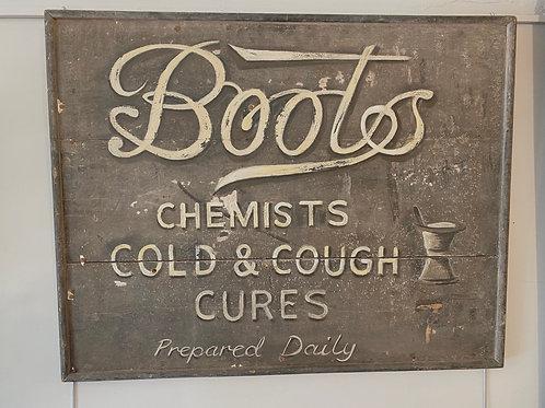 Original Boots sign