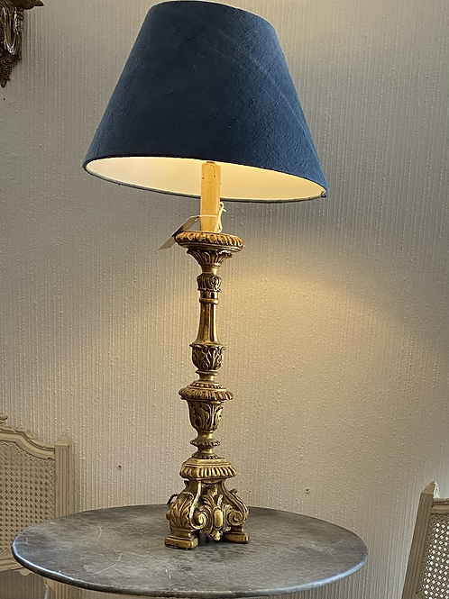Gold converted table Lamp