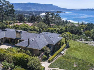 Pebble Beach oasis boasts full views of Point Lobos, Pacific Ocean