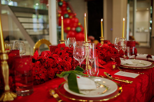 Christmas @ Home - Elegant Red Package