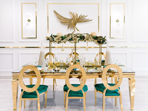 Christmas @ Home- Winter Green and Luxe Gold Package