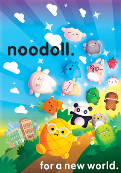 Noodoll Poster Concept