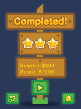 Completed! Screen