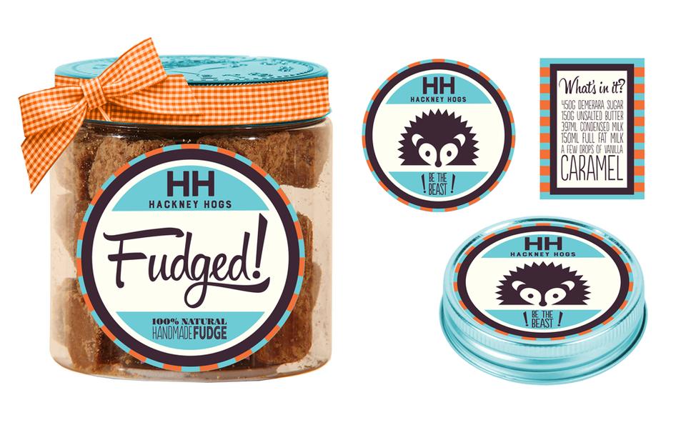 Fudge Packaging Design