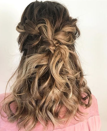 textured braid wedding hair
