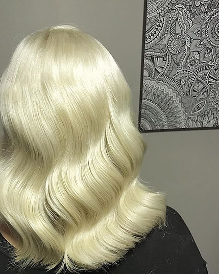 wedding hair waves