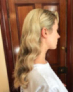 wedding hair waves