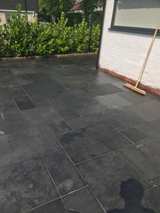 How Did I Maintain And Restore A Customers Patio