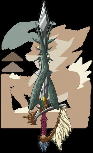 Gazellisk Sword