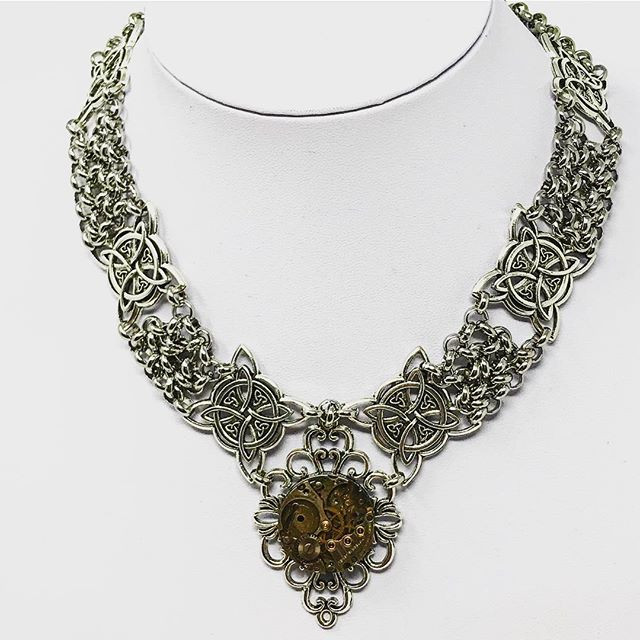 Steampunk Royalty necklace