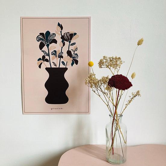 l'affiche le vase - 2