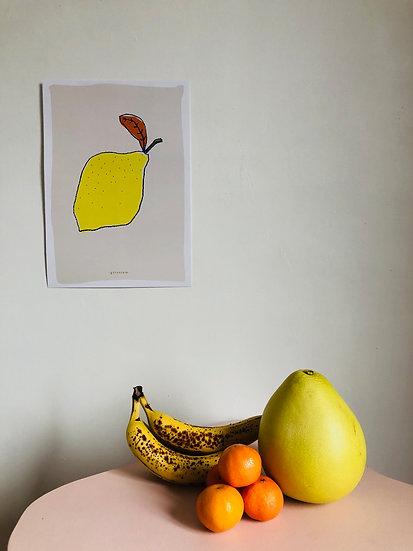 l'affiche le citron