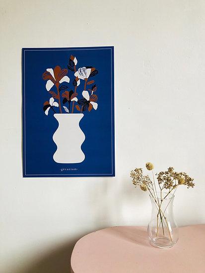l'affiche le vase - 1