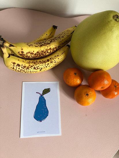 la carte la poire
