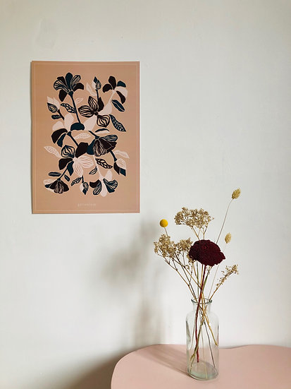 l'affiche les fleurs - 2