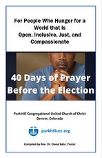 40 Days of Prayer Before the Election Co