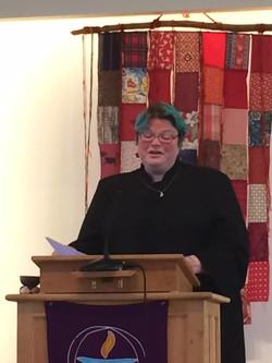 Preaching in Belfast, Maine