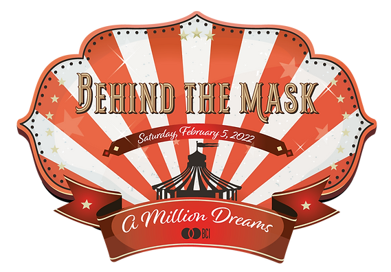 BCI Behind the Mask 2022 event logo A Million Dreams
