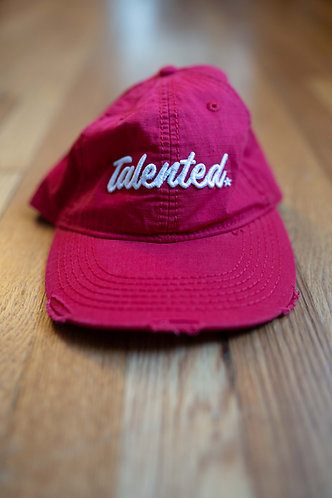 Distressed Talented Dad Hats