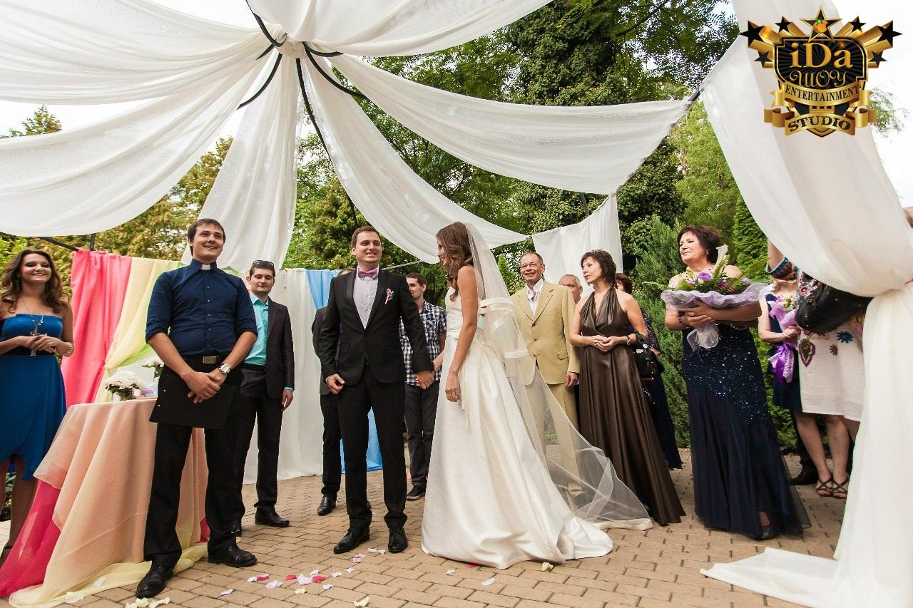 Европейская свадьба в красивейших декорациях