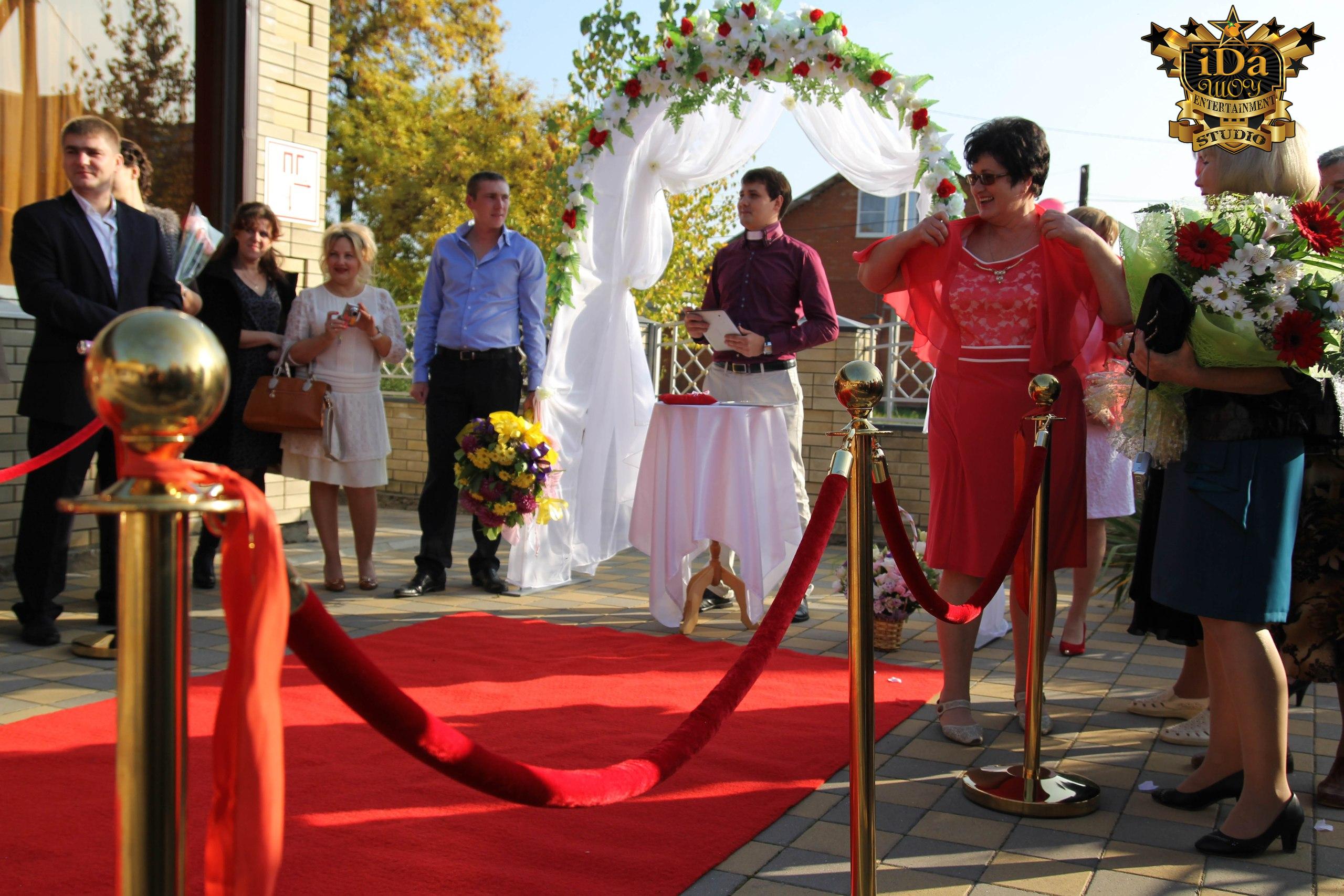 В ожидании молодожёнов. Европейская свадьба