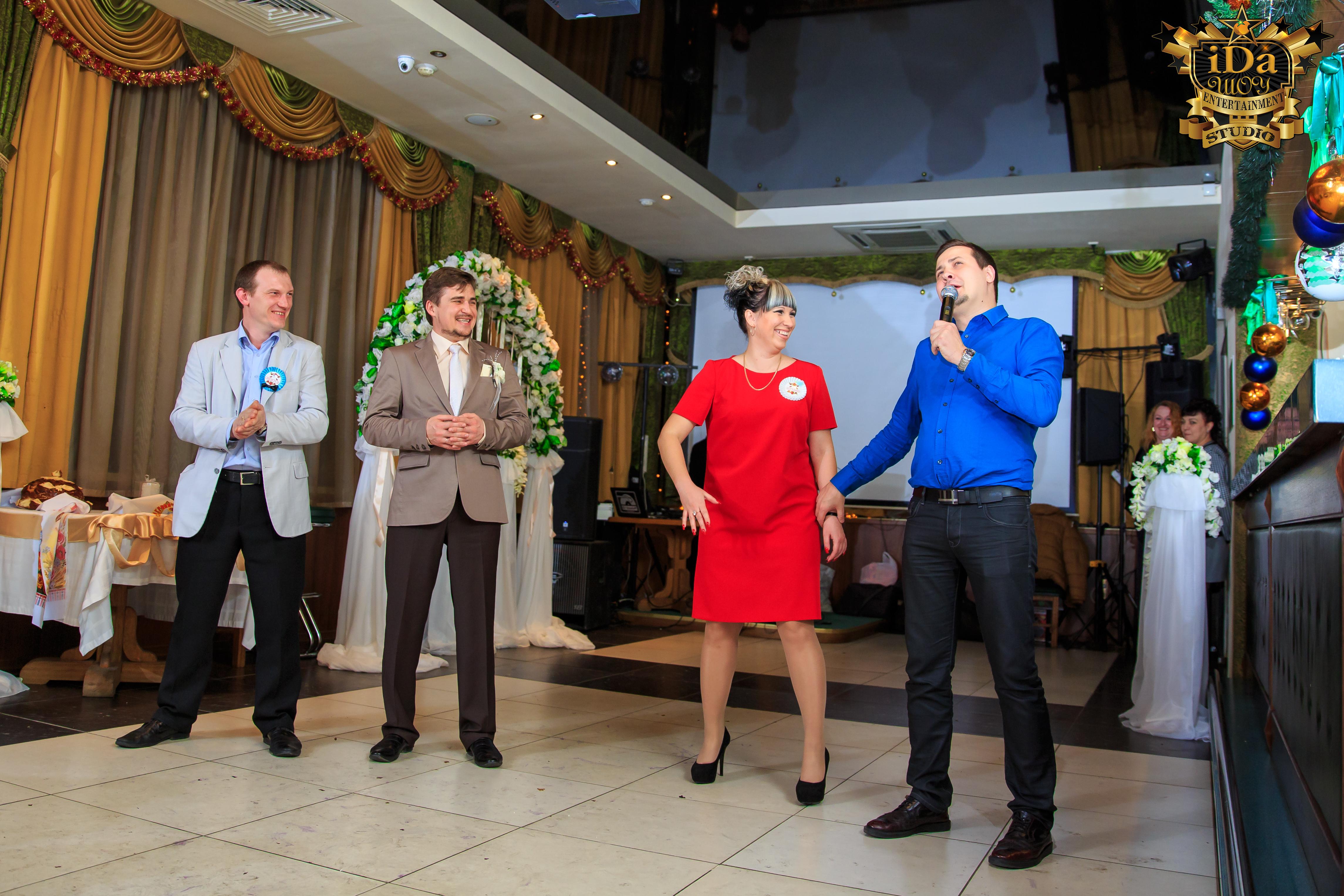 Вокальный конкурс на свадьбе музыкантов