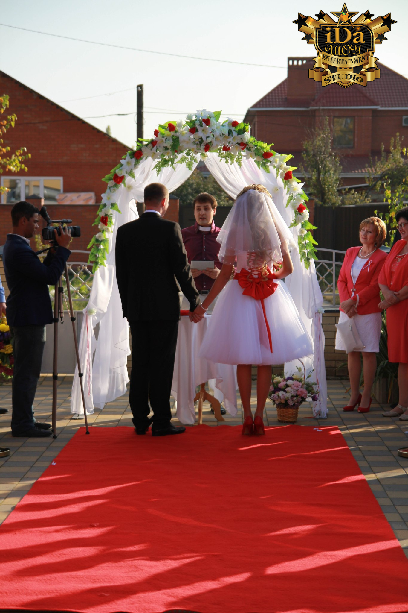 Выездная регистрация. Европейская свадьба