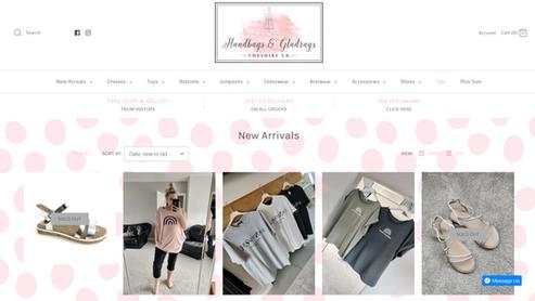 Handbags & Gladrags Website