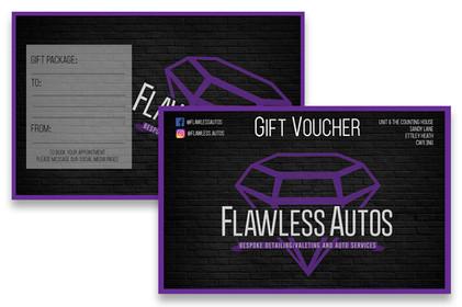 Flawless Autos Gift Voucher