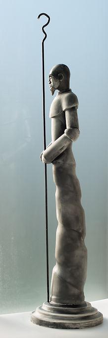 Sentinella, sculpture céramique, d'Olivier Maréchaux