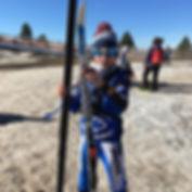 Neu, esquí de fons a Tuixent