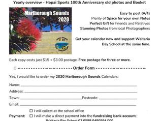 Fundraiser Calendar Order Form