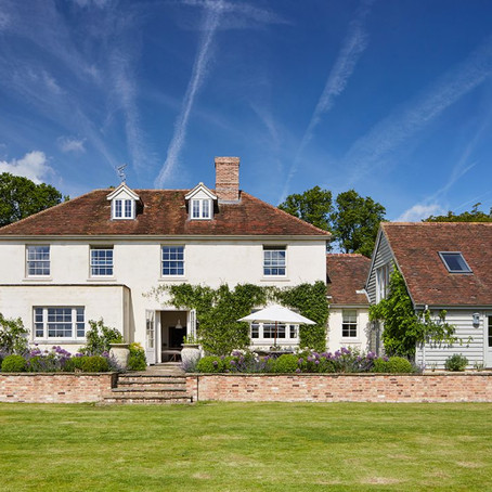 An elegant Georgian home in Hampshire that exudes character