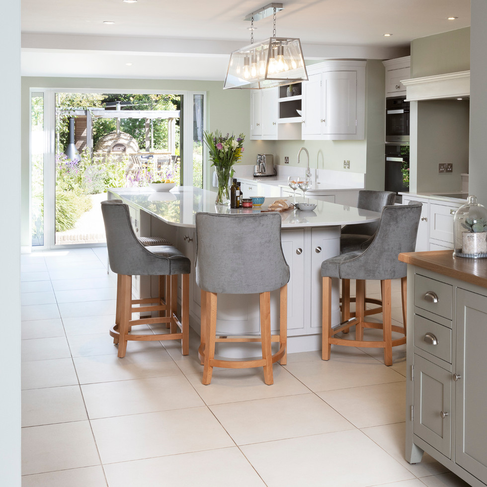 Bespoke kitchen fitted to family home in Banstead Surrey
