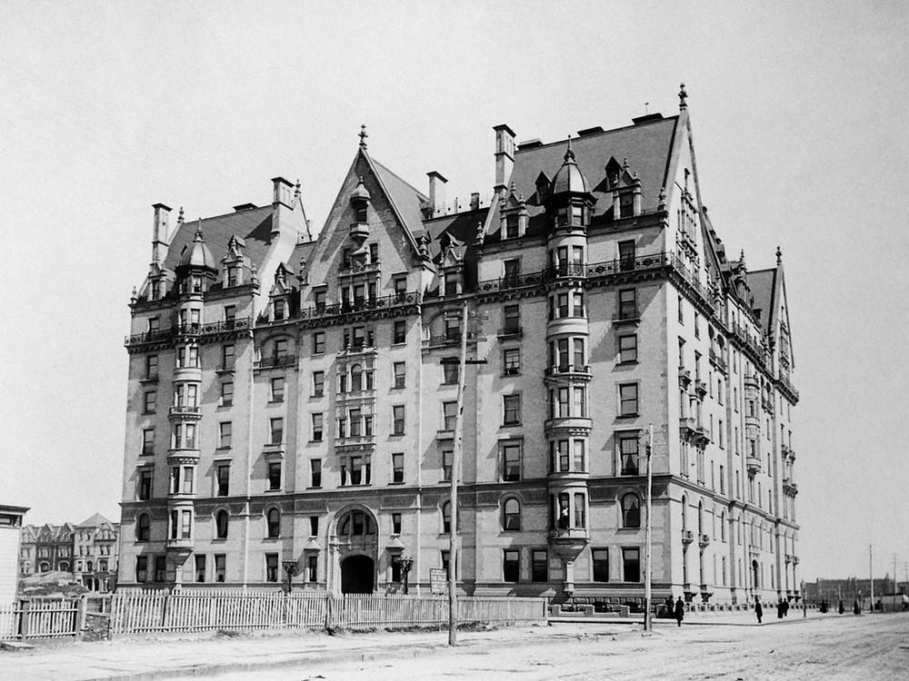 The Dakota, circa 1890.