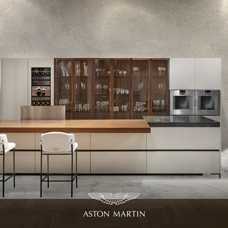 Aston Martin unveils V888 Kitchen