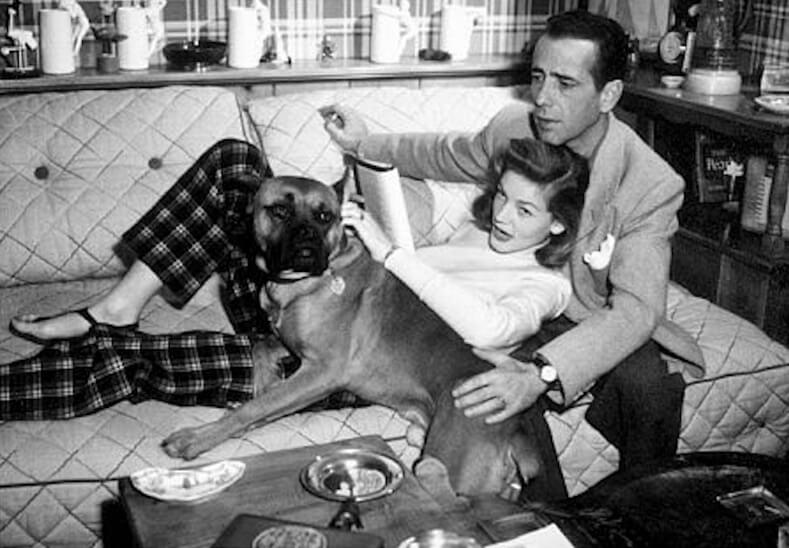 Bacall Bogart and Harvey