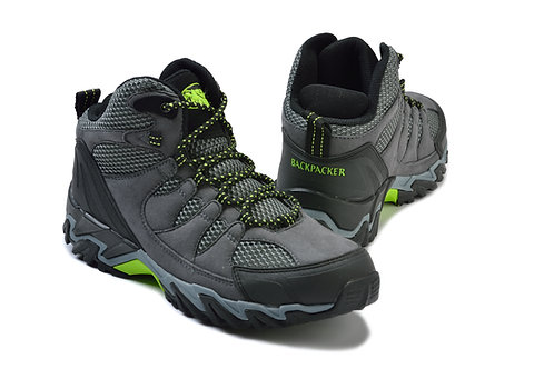 Backpacker Hiking Boots - Grey
