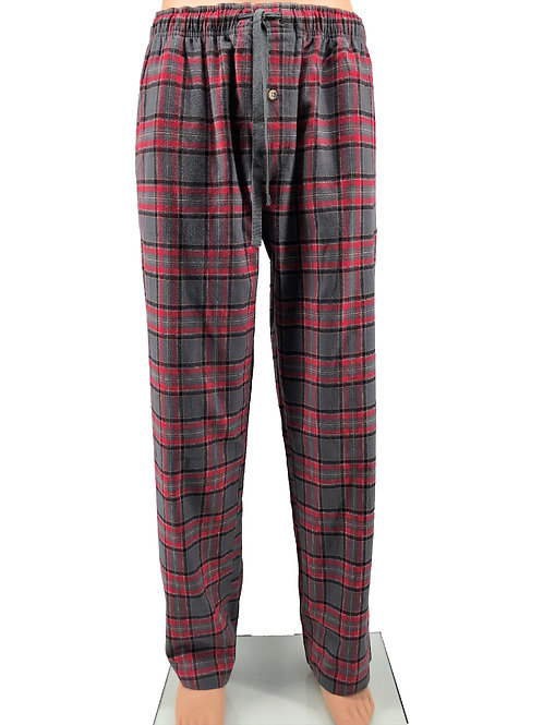 Men's Campfire Lounge Pant - Red Grey