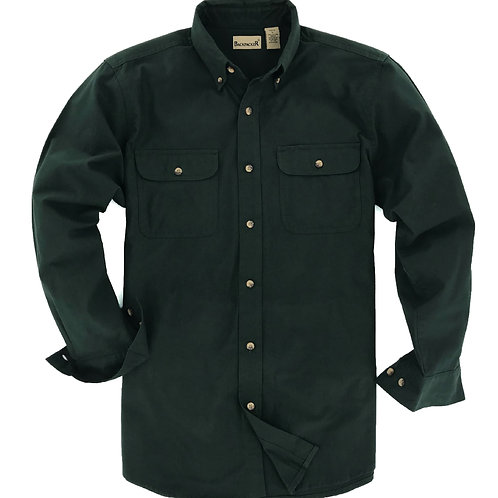 Classic Solid Flannel - Pine