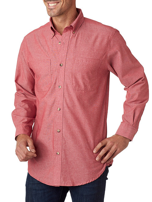 Classic Chambray - Red