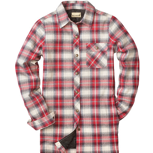 Women's Flannel Shirt Jac - Independent