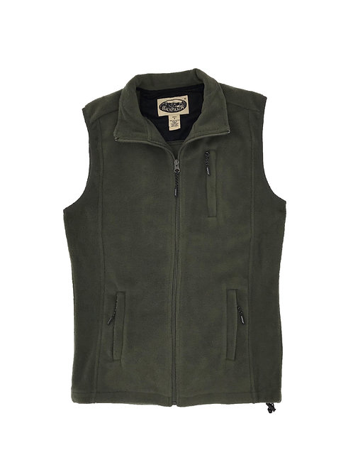 Sedona Trail Polar Fleece Vest - Olive