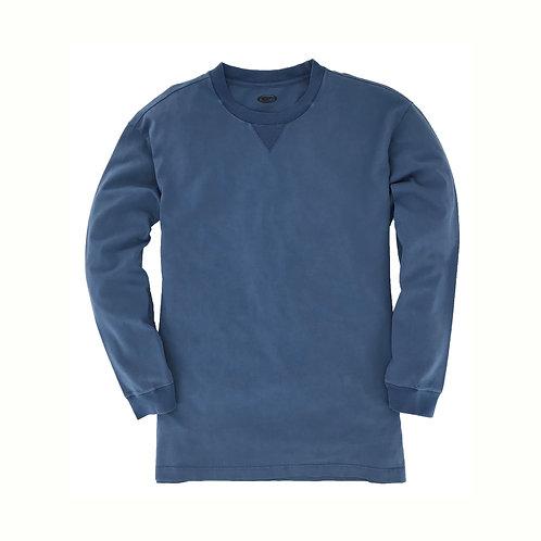Ranger Long Sleeve Tee- Dark Steel Blue