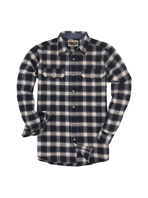 Canyon Falls Flannel - Navy