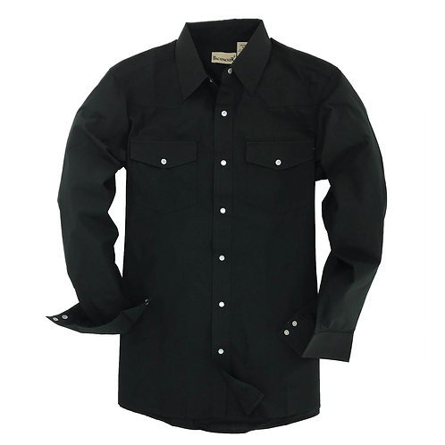 Outback Western Shirt -Black