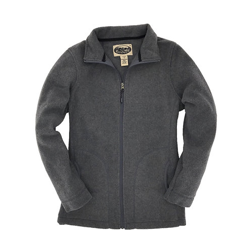 Women's West Rim Polar Fleece Jacket - Charcoal